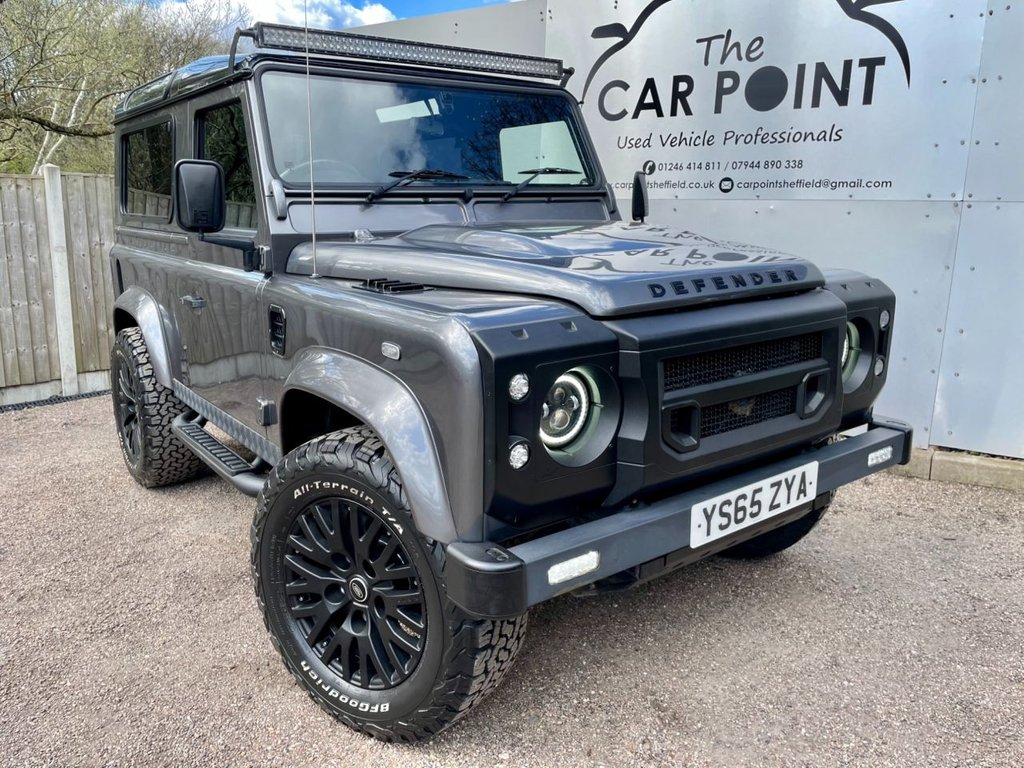USED 2016 65 LAND ROVER DEFENDER 2.2 TD XS STATION WAGON 3d 122 BHP
