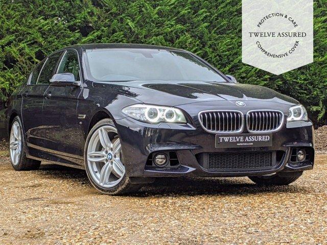USED 2014 14 BMW 5 SERIES 2.0 520D M SPORT 4d AUTO 181 BHP (PRO NAV)