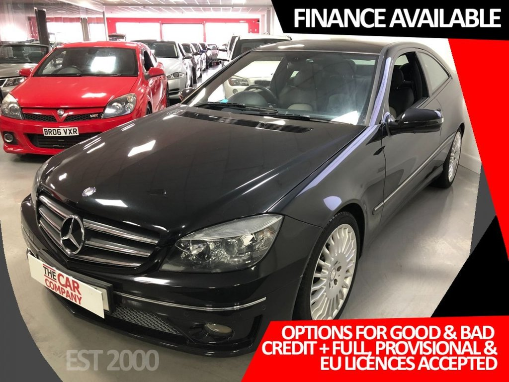 USED 2010 10 MERCEDES-BENZ CLC CLASS 1.8 CLC200 KOMPRESSOR SPORT 3d 184 BHP * SAT NAV * LEATHER * PARKING SENSORS *