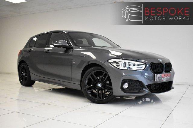 2017 67 BMW 1 SERIES 118D M SPORT 5 DOOR