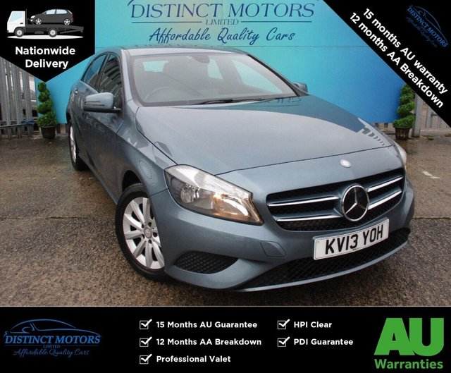 USED 2013 13 MERCEDES-BENZ A-CLASS 1.5 A180 CDI BLUEEFFICIENCY SE 5d 109 BHP