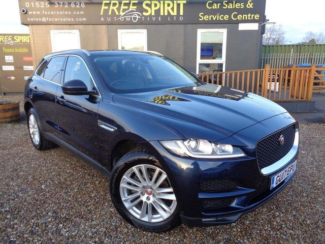 USED 2017 17 JAGUAR F-PACE 2.0d Portfolio Auto AWD (s/s) 5dr 1 Owner, Full JLR History