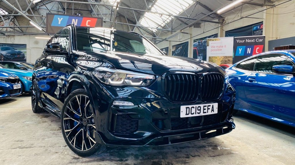 USED 2019 19 BMW X5 3.0 M50d Auto xDrive (s/s) 5dr PERFORMANCE EXTERIOR PACK !!!