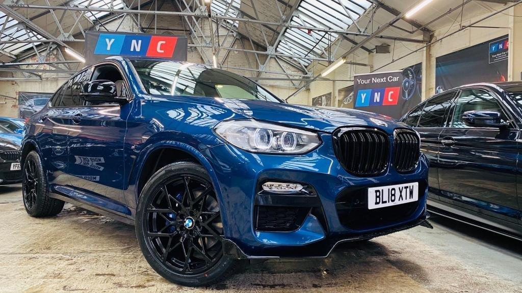 USED 2018 18 BMW X4 2.0 20d M Sport Auto xDrive (s/s) 5dr TOPSPEC!+20S+PANROOF!! 6.9 APR