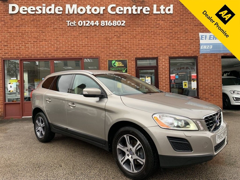 USED 2012 62 VOLVO XC60 2.4 D4 SE LUX NAV AWD 5d 161 BHP Full service history : Bluetooth : Sat Nav : Leather upholstery : Electric/Memory driver's seat : Heated front seats : Isofix fittings : Rear parking sensors : Remotely operated tailgate : Cargo/Load cover