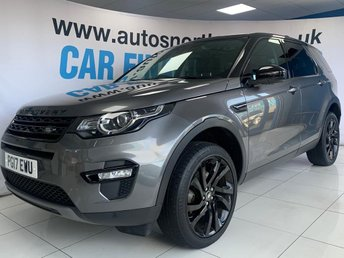 2017 LAND ROVER DISCOVERY SPORT 2.0 TD4 HSE BLACK 5d 180 BHP £24000.00