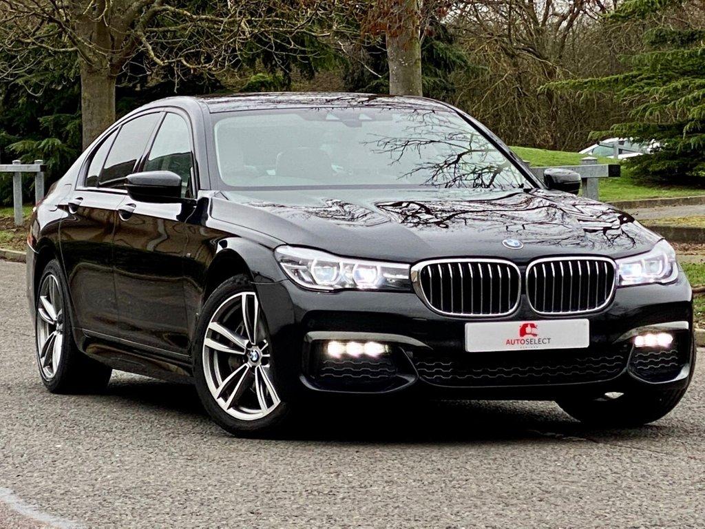USED 2018 18 BMW 7 SERIES 3.0 740D XDRIVE M SPORT 4d 315 BHP 1 OWNER FSH MASSIVE SPEC STUNNING