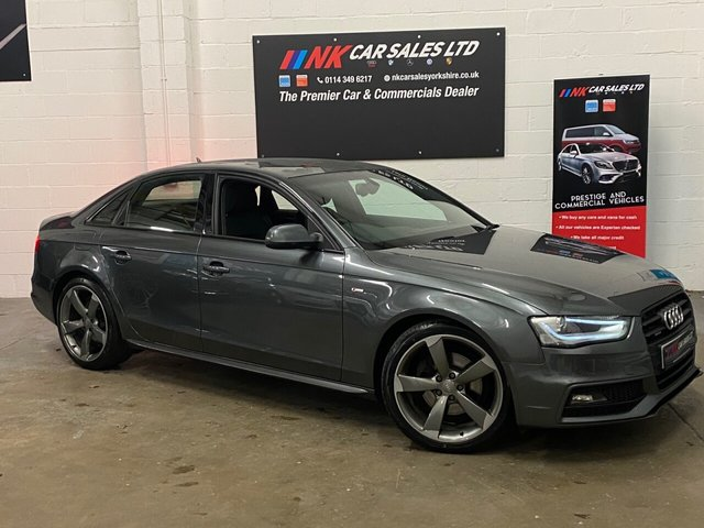2013 63 AUDI A4 2.0 TDI QUATTRO BLACK EDITION 4d 174 BHP FSH TIMING BELT AND WATER PUMP DONE BY AUDI