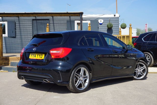USED 2014 14 MERCEDES-BENZ A-CLASS 1.5 A180 CDI BLUEEFFICIENCY AMG SPORT 5d 109 BHP GET UPTO £1000 MORE FOR YOUR PART EXCHANGE