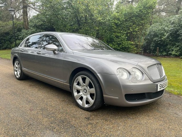USED 2005 55 BENTLEY CONTINENTAL FLYING SPUR 6.0 FLYING SPUR 5 SEATS 4d 550 BHP