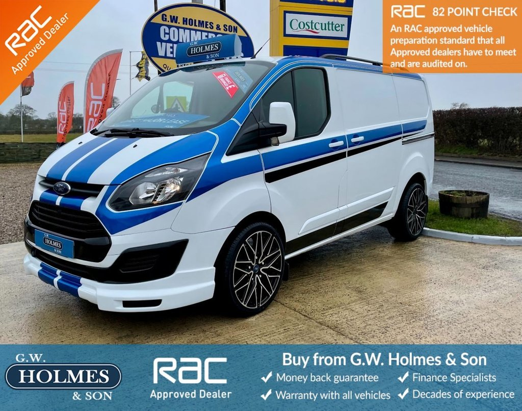 USED 2015 65 FORD TRANSIT CUSTOM 2.2 TDCI 270 100 BHP L1 H1 **SPORTS PACK**FINANCE AVAILABLE**