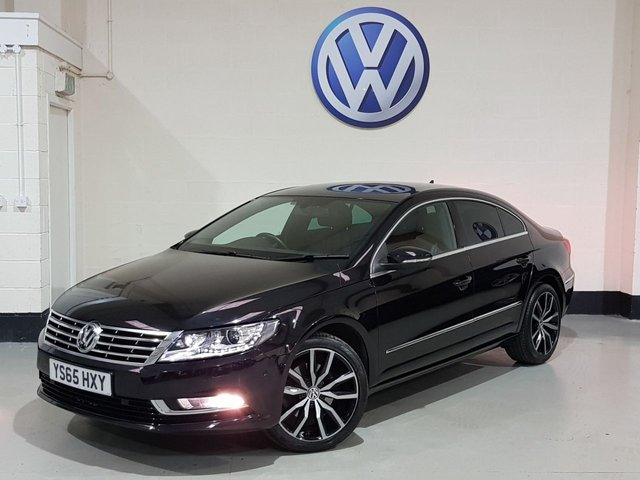 USED 2015 65 VOLKSWAGEN CC 2.0 GT TDI BLUEMOTION TECHNOLOGY 4d 148 BHP 1 Owner/ Two Tone Heated Leather/ Sat-Nav/ Park Sensors