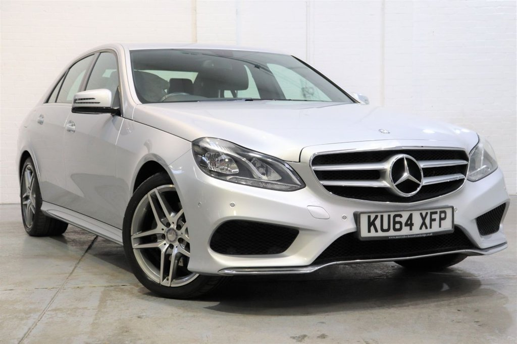 USED 2014 64 MERCEDES-BENZ E-CLASS 2.1 E220 CDI AMG SPORT 4d 168 BHP Satnav + Cruise + Parking Aid + Dab