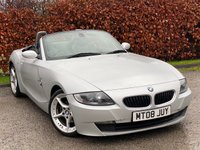 USED 2008 08 BMW Z4 2.0 Z4 I SPORT ROADSTER 2d 150 BHP * CONVERTIBLE * LOW MILEAGE * 12 MONTHS FREE AA MEMBERSHIP *