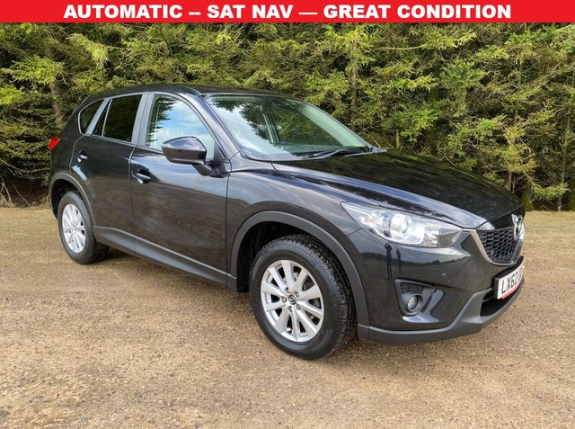 USED 2013 62 MAZDA CX-5 2.2 D SE-L AUTO 5d 148 BHP AUTOMATIC -- SAT NAV — GREAT CONDITION
