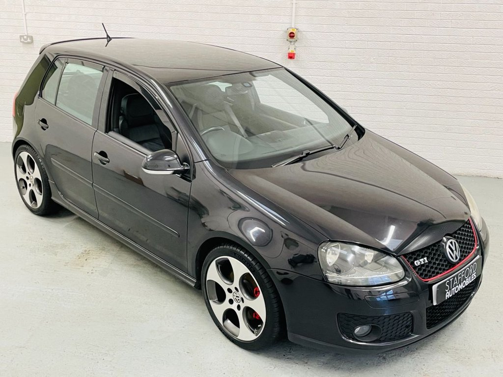 USED 2006 56 VOLKSWAGEN GOLF 2.0 GTI 5d 197 BHP FULL VW/VW SPECIALIST SERVICE HISTORY, 18IN ALLOYS, HEATED LEATHER, FINANCE AVAILABLE