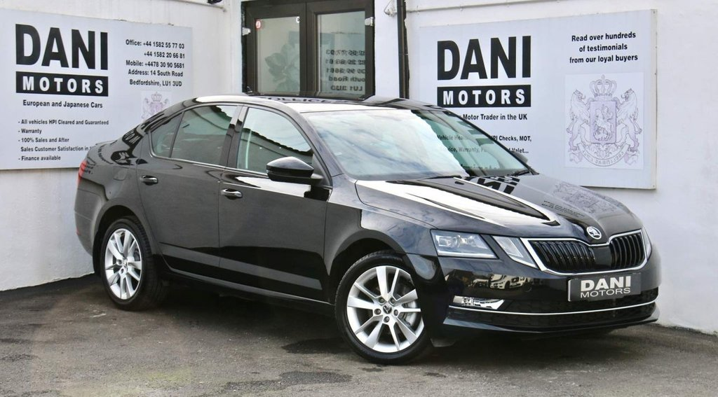 USED 2018 18 SKODA OCTAVIA 1.5 TSI ACT SE L DSG (s/s) 5dr 1 OWNER*SATNAV*PARKING AID