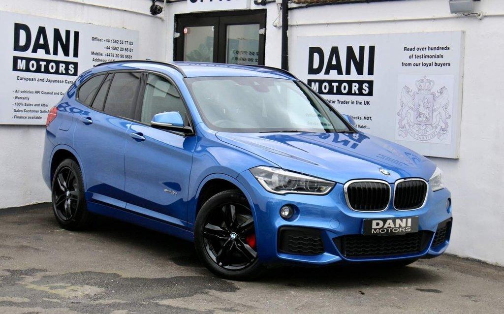 USED 2017 67 BMW X1 2.0 18d M Sport sDrive (s/s) 5dr 1 OWNER*SATNAV*PARKING AID