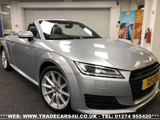 USED 2015 15 AUDI TT 2.0 TFSI QUATTRO SPORT 2d 227 BHP FREE UK DELIVERY*VIDEO AVAILABLE* FINANCE ARRANGED* PART EX*HPI CLEAR