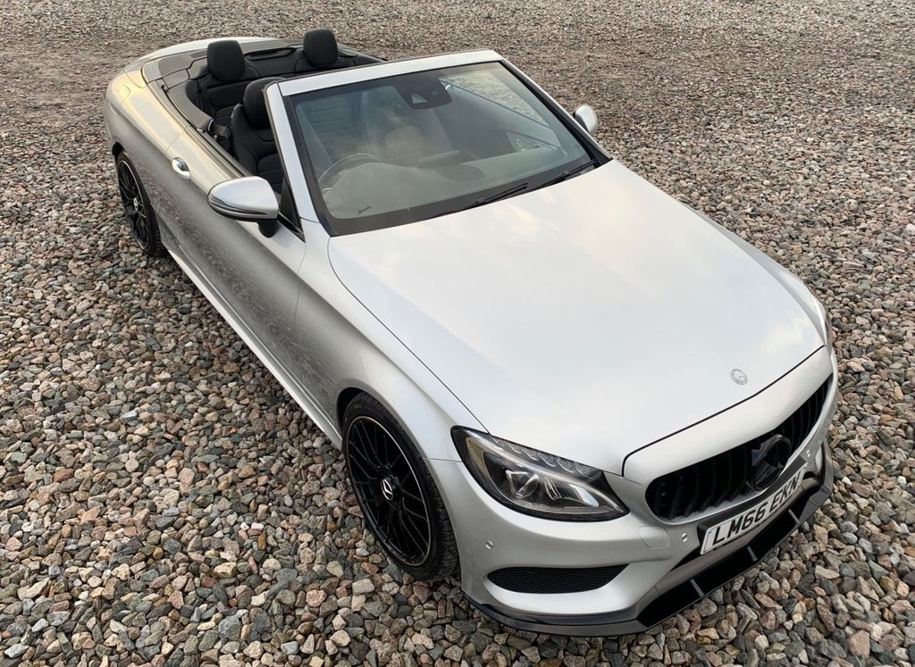 USED 2016 66 MERCEDES-BENZ C-CLASS 2.1 C 220 D AMG LINE 2d 168 BHP Free Next Day Nationwide Delivery