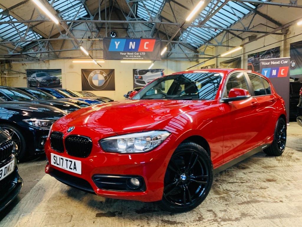 USED 2017 17 BMW 1 SERIES 1.5 116d Sport (s/s) 5dr BLACKLINE! 1 OWNER 12M MOT
