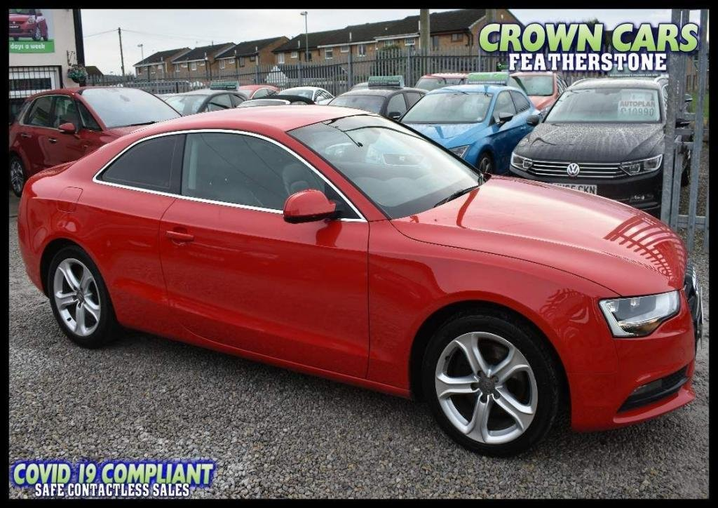 USED 2013 13 AUDI A5 2.0 TDI SE 2dr TWO FORMER WITH FULL HISTORY