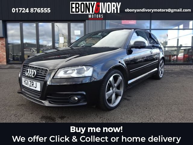 USED 2011 11 AUDI A3 2.0 TDI S LINE SE 3d 168 BHP FANTASTIC EXAMPLE + FULLY SERVICED + 1 YEAR MOT