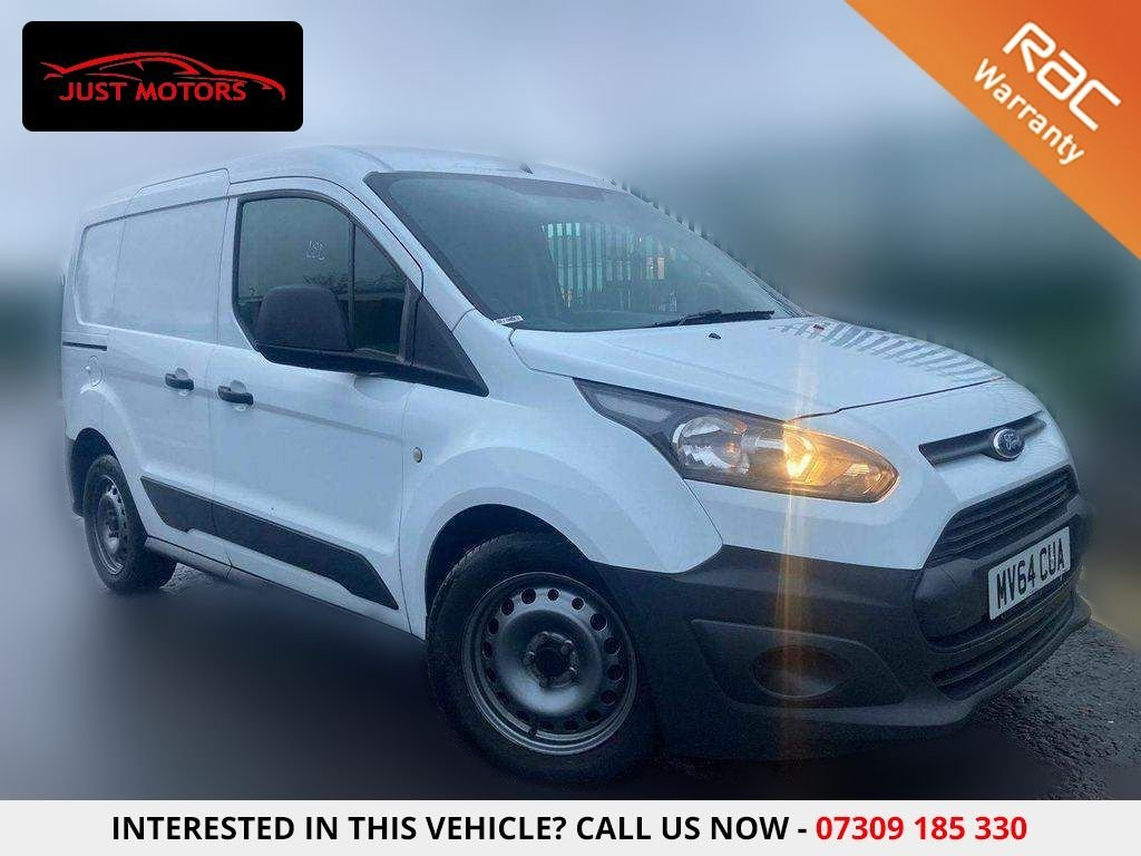 USED 2014 64 FORD TRANSIT CONNECT 1.6 220 DCB 94 BHP RECENT SERVICE @107K+ NO VAT CREW CAB