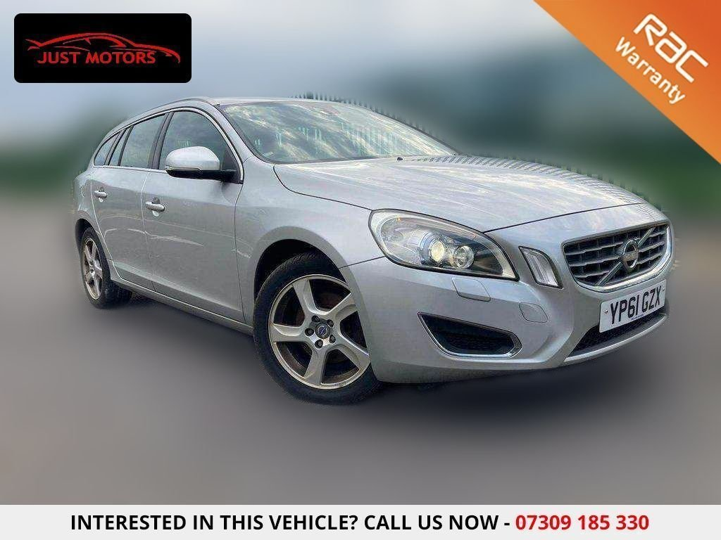USED 2011 61 VOLVO V60 1.6 DRIVE SE LUX S/S 5d 113 BHP £30 ROAD TAX|SERVICE