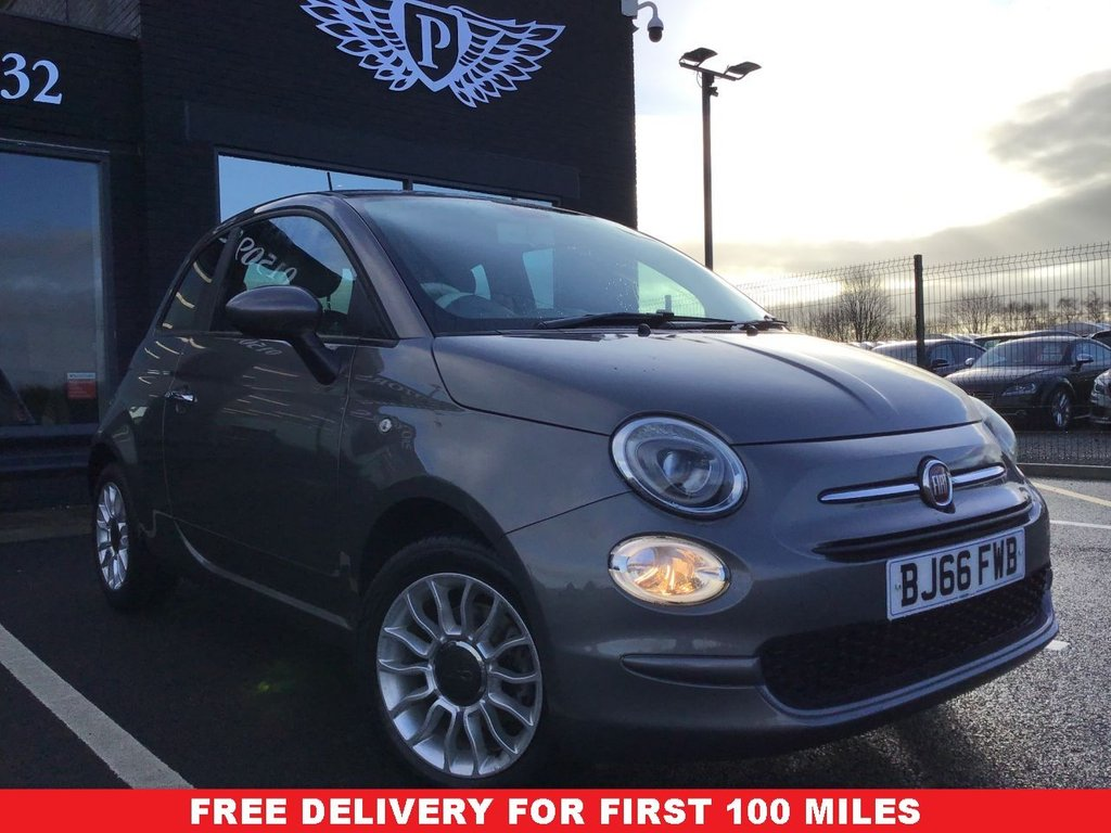 USED 2016 66 FIAT 500 1.2 POP STAR 3d 69 BHP FREE DELIVERY*