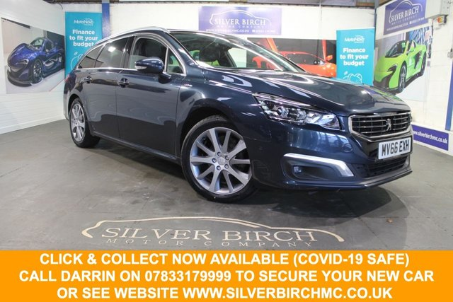 USED 2016 66 PEUGEOT 508 1.6 BLUE HDI S/S SW GT LINE 5d 120 BHP Great Spec, Finance Available