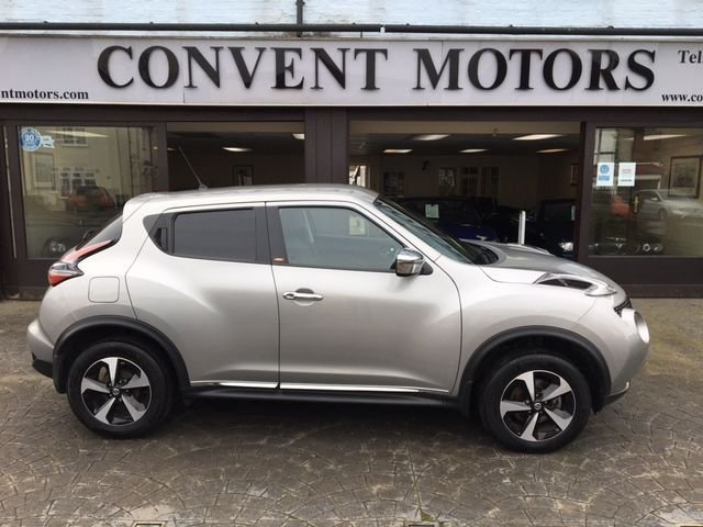USED 2018 68 NISSAN JUKE 1.6 BOSE PERSONAL EDITION 5d 112 BHP