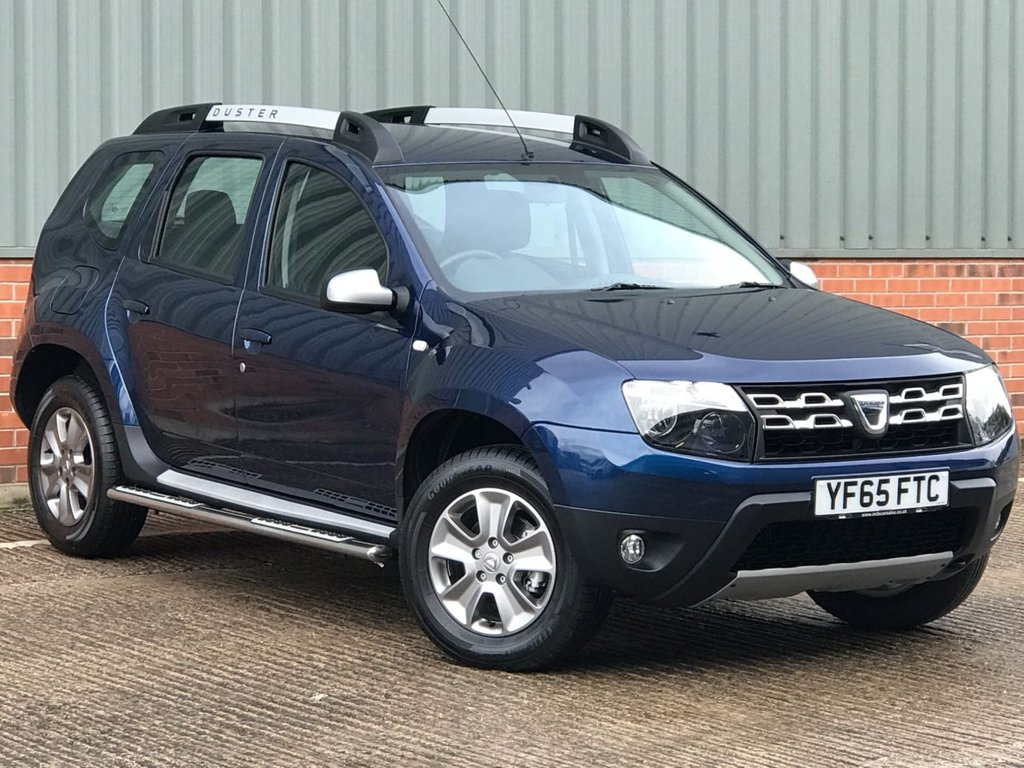 USED 2015 65 DACIA DUSTER 1.5 LAUREATE PRIME DCI 5d 109 BHP EXCELLENT ONE OWNER LOW MILEAGE EXAMPLE
