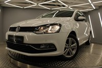 USED 2017 66 VOLKSWAGEN POLO 1.0 MATCH EDITION 3d 60 BHP LOW TAX AND INSURANCE, FAB MPG, ONLY 14,833 MILES...