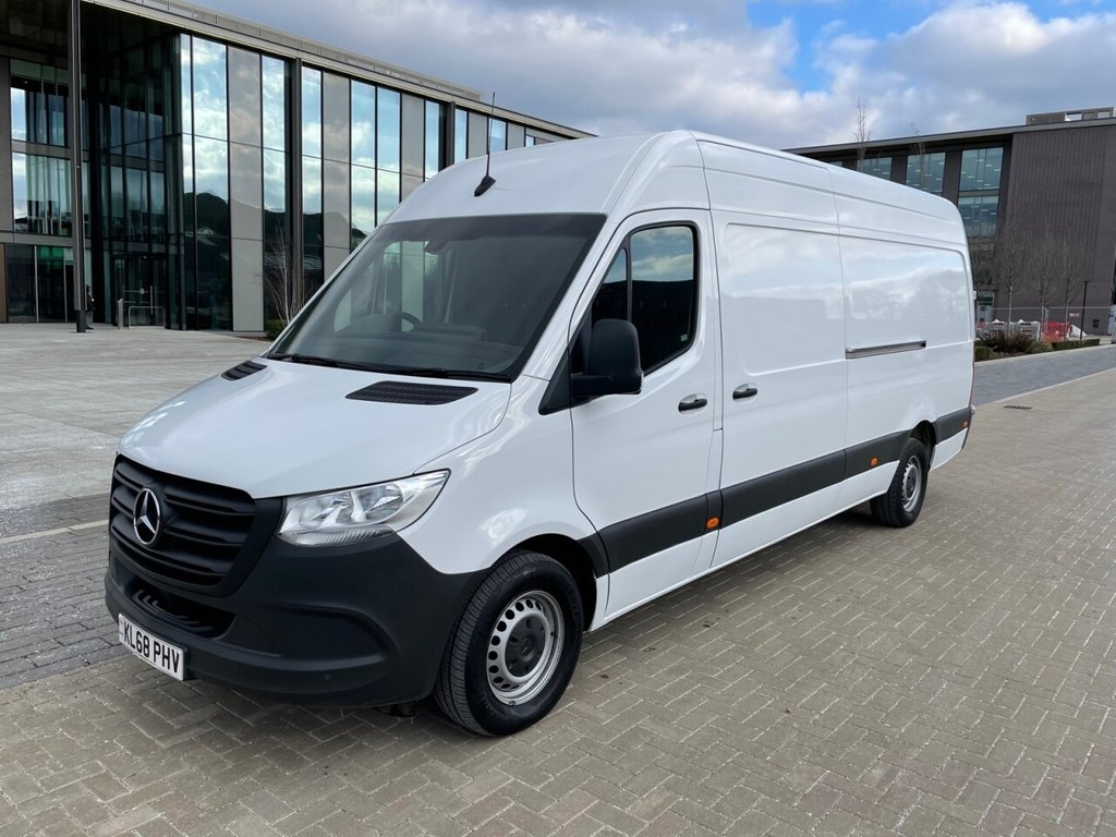 USED 2019 68 MERCEDES-BENZ SPRINTER 314 2.1CDI EURO 6 141ps NEW SHAPE LWB HR *E/W*BLUETOOTH* EURO 6-LWB HR-E/W-BLUETOOTH