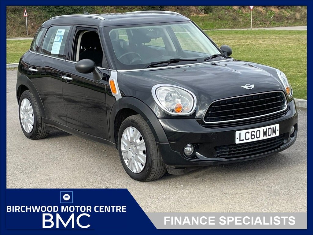 USED 2010 60 MINI COUNTRYMAN 1.6 ONE D 5d 90 BHP. SERVICE HISTORY AVAILABLE!!!