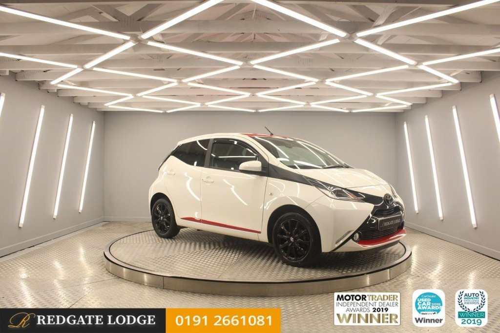 USED 2017 67 TOYOTA AYGO 1.0 VVT-I X-PRESS 5d 69 BHP DAB, BLUETOOTH, AIR / CON, LOW MILES...