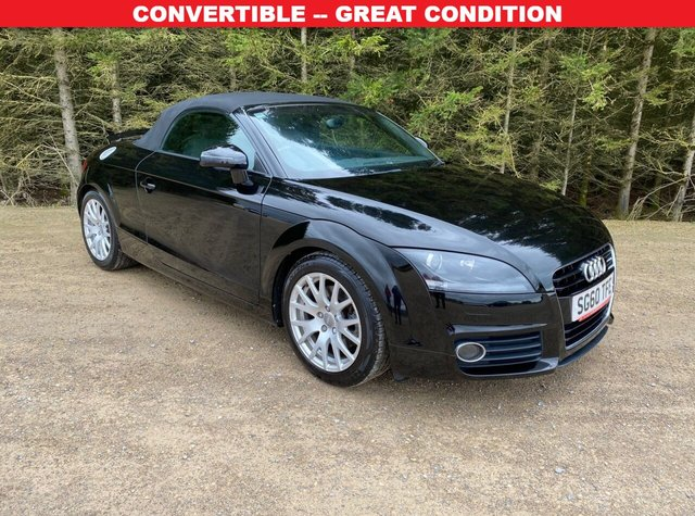 USED 2010 60 AUDI TT 1.8 TFSI 2d 160 BHP CONVERTIBLE -- GREAT CONDITION
