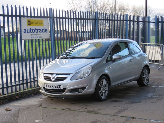 USED 2009 59 VAUXHALL CORSA SXI A/C 16V Electric Windows Air Conditioning-Alloy Wheels-Remote Locking