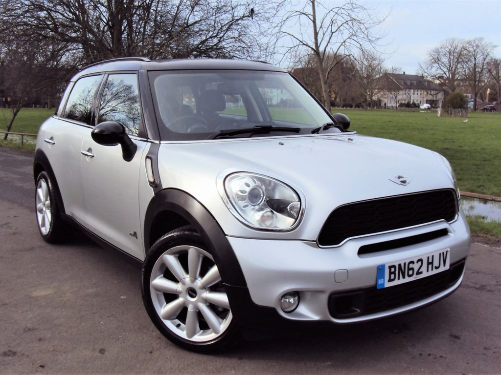 USED 2012 62 MINI COUNTRYMAN 2.0 COOPER SD ALL4 5d 141 BHP SD AUTOMATIC 5 DOOR SUV