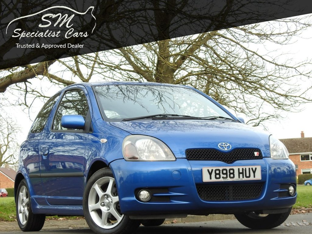 USED 2001 Y TOYOTA YARIS 1.5 T SPORT VVT-I 3d 105 BHP LAST OWNER SINCE 2001 ONLY 36K
