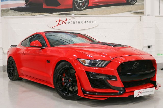2015 65 FORD MUSTANG 5.0 GT 2d 802 BHP EDELBROCK SUPERCHARGED £30K UPGRADES
