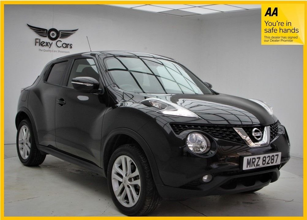 USED 2017 NISSAN JUKE 1.6 N-CONNECTA XTRONIC 5d 117 BHP