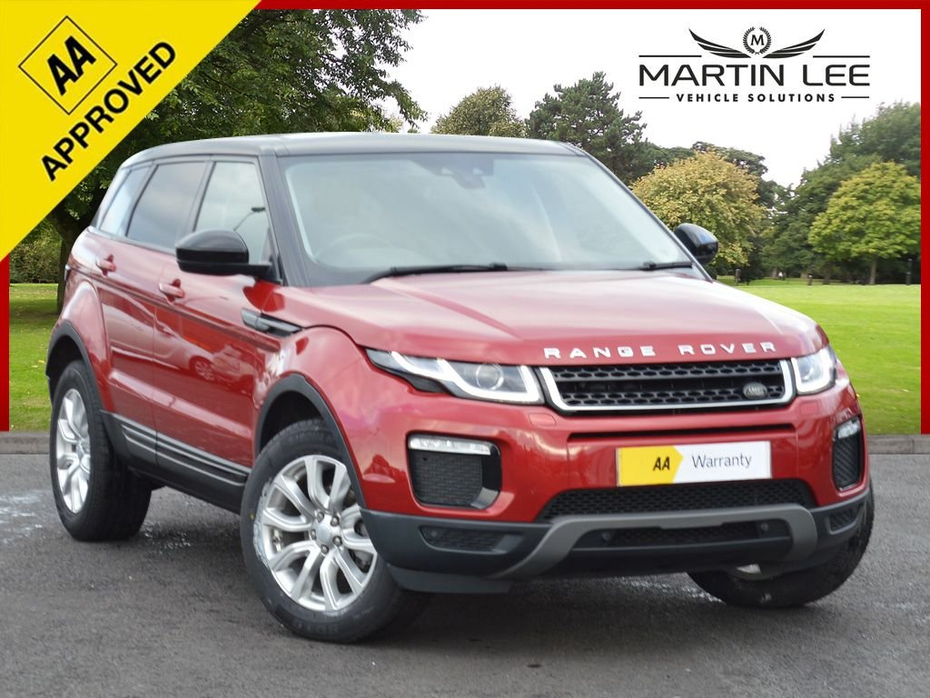 USED 2016 16 LAND ROVER RANGE ROVER EVOQUE 2.0 ED4 SE TECH 5d 148 BHP STUNNING COLOUR COMBINATION WITH FULL HEATED LEATHER