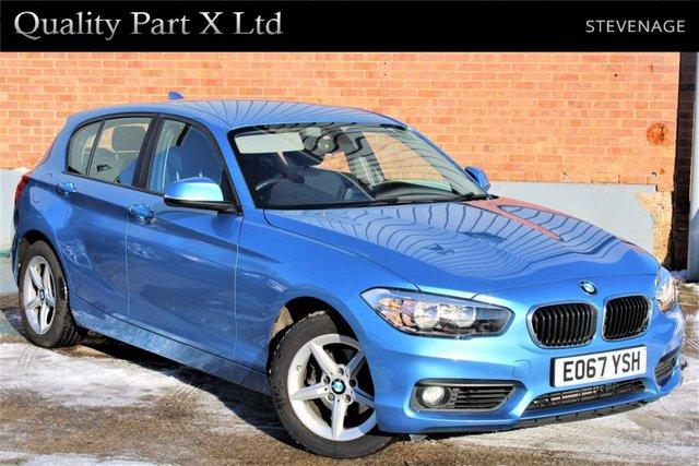 USED 2017 67 BMW 1 SERIES 1.5 118i SE Sports Hatch Auto (s/s) 5dr SATNAV, BLUETOOTH, ECO, SPORT