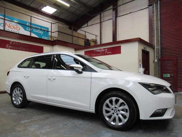 USED 2015 15 SEAT LEON 2.0 TDI SE (Tech Pack) ST (s/s) 5dr ***33000 MILES F/S/H***