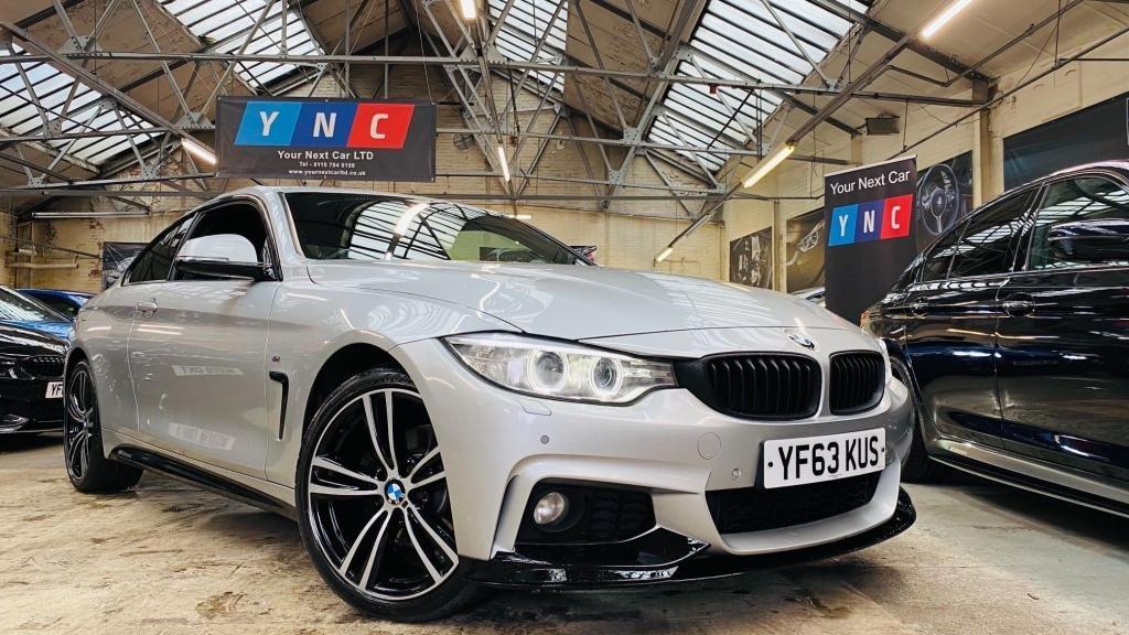 USED 2013 63 BMW 4 SERIES 2.0 420d M Sport Auto xDrive 2dr PERFORMANCEKIT+XDRIVE+19S