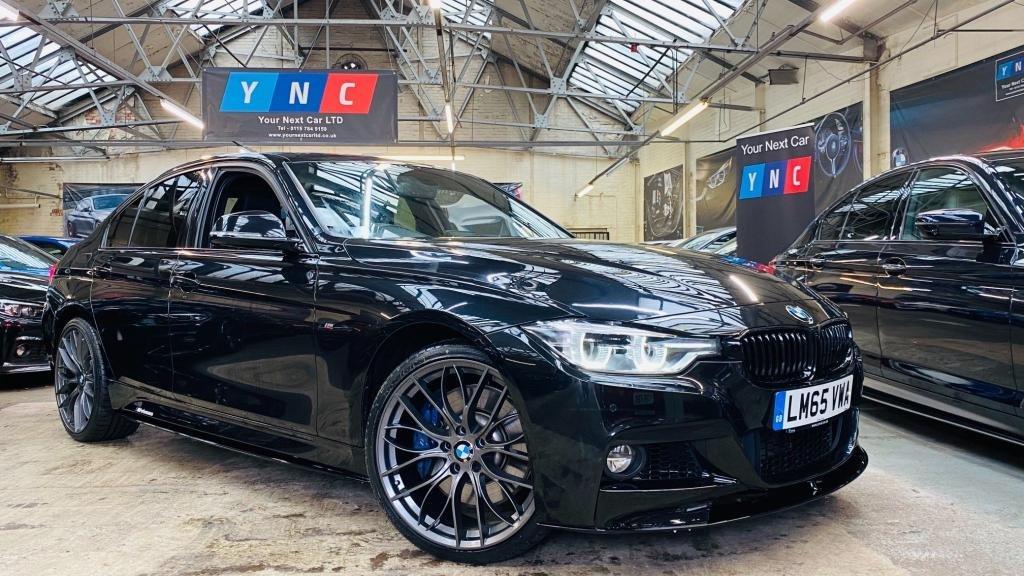 USED 2015 65 BMW 3 SERIES 3.0 335d M Sport Auto xDrive (s/s) 4dr PERFORMANCEKIT+20S+PLUSPACK