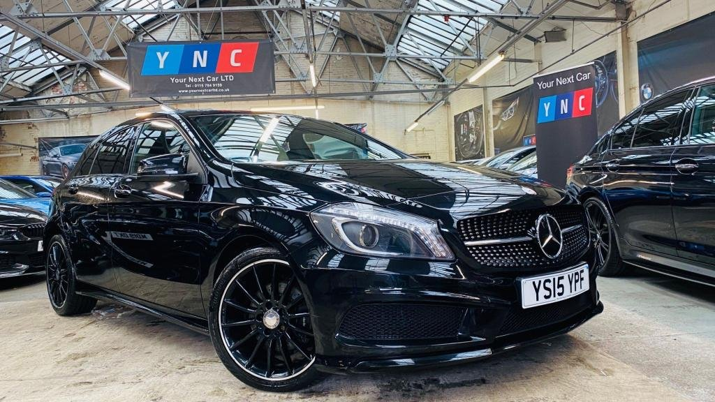 USED 2015 15 MERCEDES-BENZ A-CLASS 1.5 A180 CDI Night Edition 7G-DCT 5dr (E6) NIGHTEDITION!+18S+KEYLESSGO