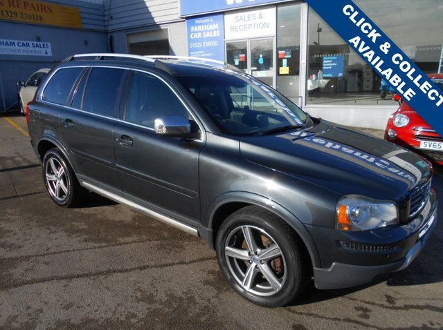 USED 2011 11 VOLVO XC90 2.4 D5 R-DESIGN SE AWD 5d AUTO 197 BHP FANTASTIC CONDITION AND DRIVE